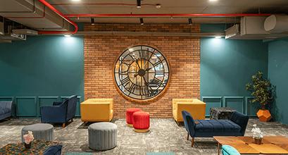 Business Lounge at Devx Coworking Space in Mumbai Andheri
