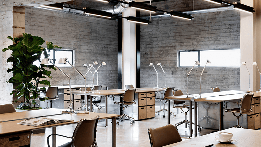 NeueHouse Coworking Space in Hollywood, California, USA