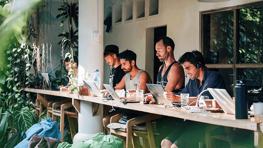 Dojo Coworking Space in Bali, Indonesia