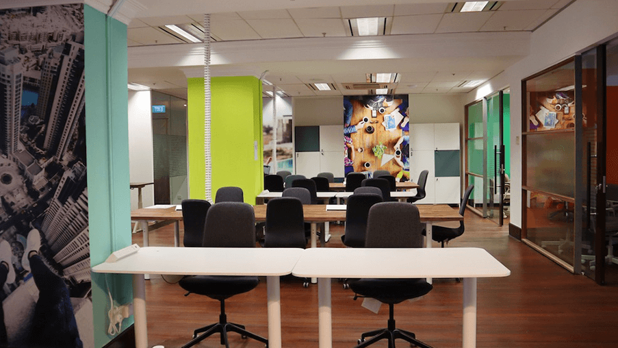 ClubCo Coworking Space in Singapore