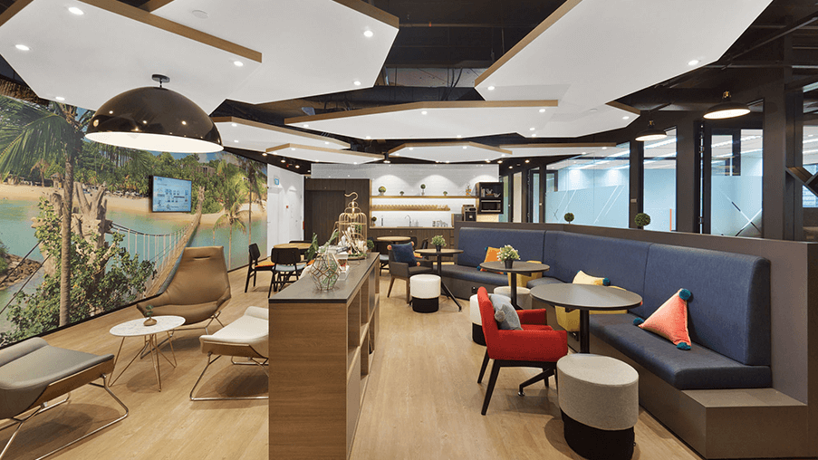 Compass Offices Coworking Space in Singapore