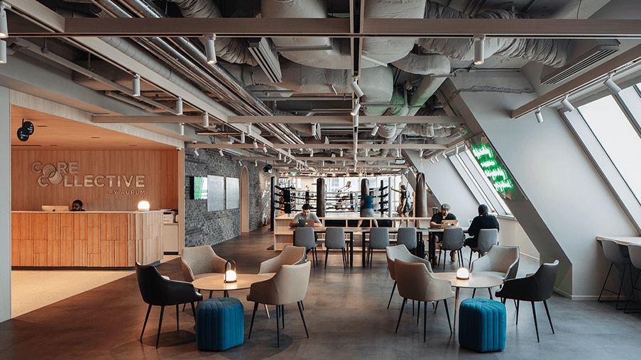 Core Collective Coworking Space in Singapore