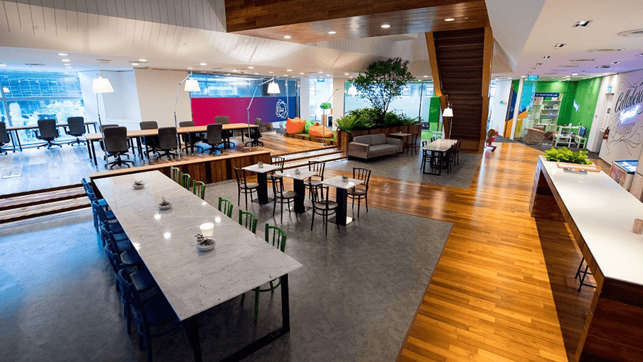 Level3 Coworking Space in Singapore