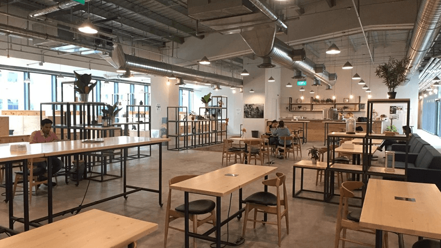The Hive Coworking Space in Singapore