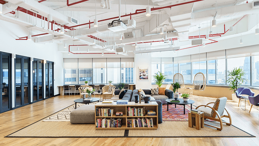 WeWork Coworking Space in Singapore
