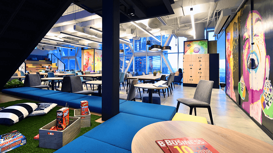 JustCo Coworking Space in Singapore