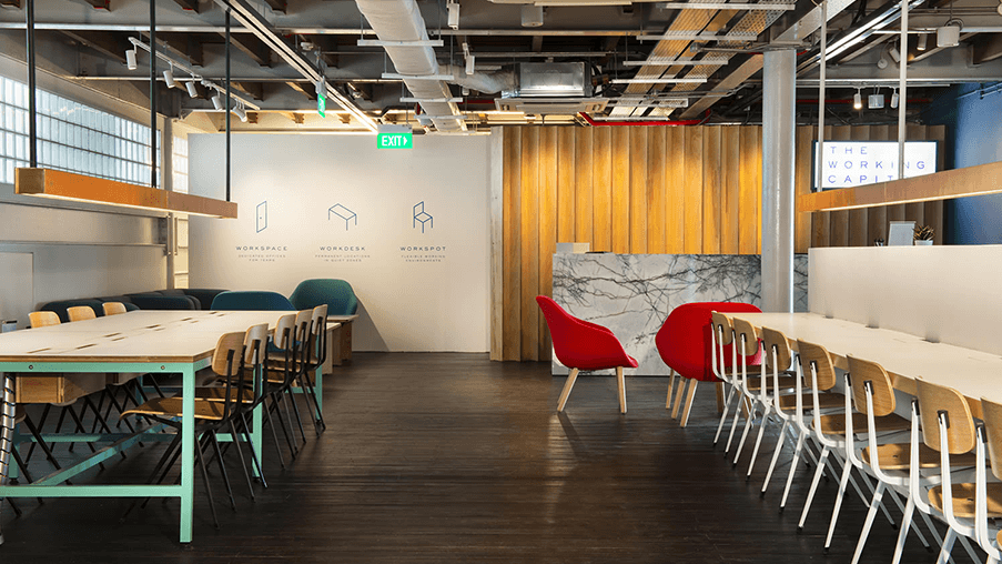 The Working Capitol Coworking Space in Singapore