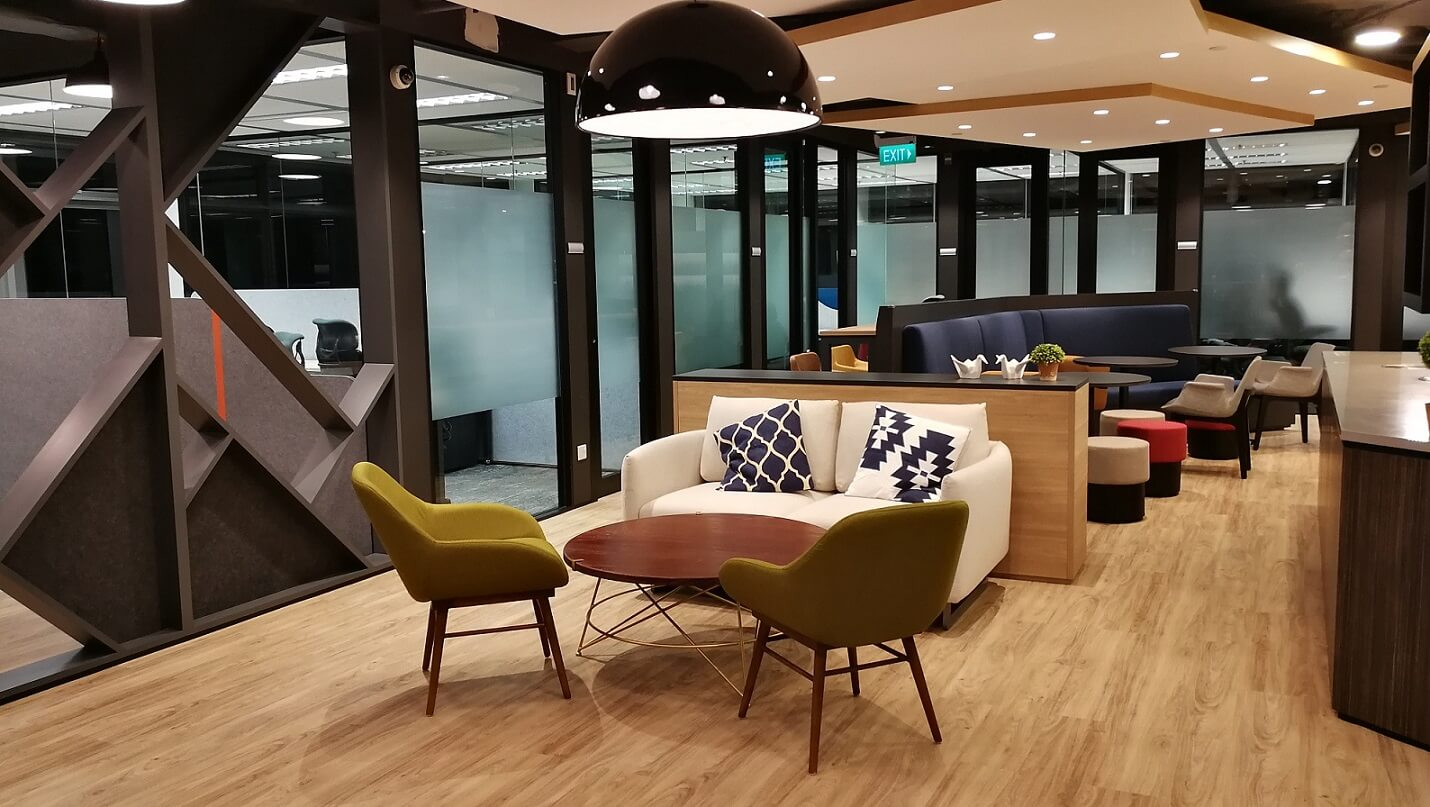 Compass Offices Business Center in Singapore