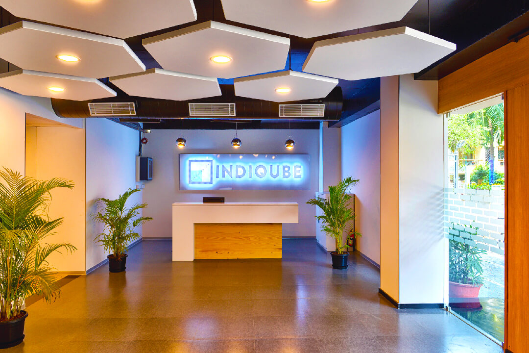 IndiQube Coworking Space in Banglore