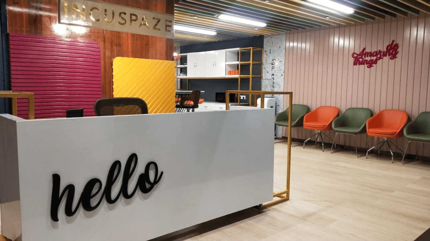 Incuspaze Coworking Space in Indore
