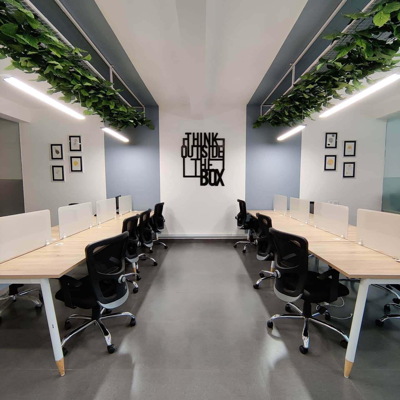 Workjar Coworking Space in Indore