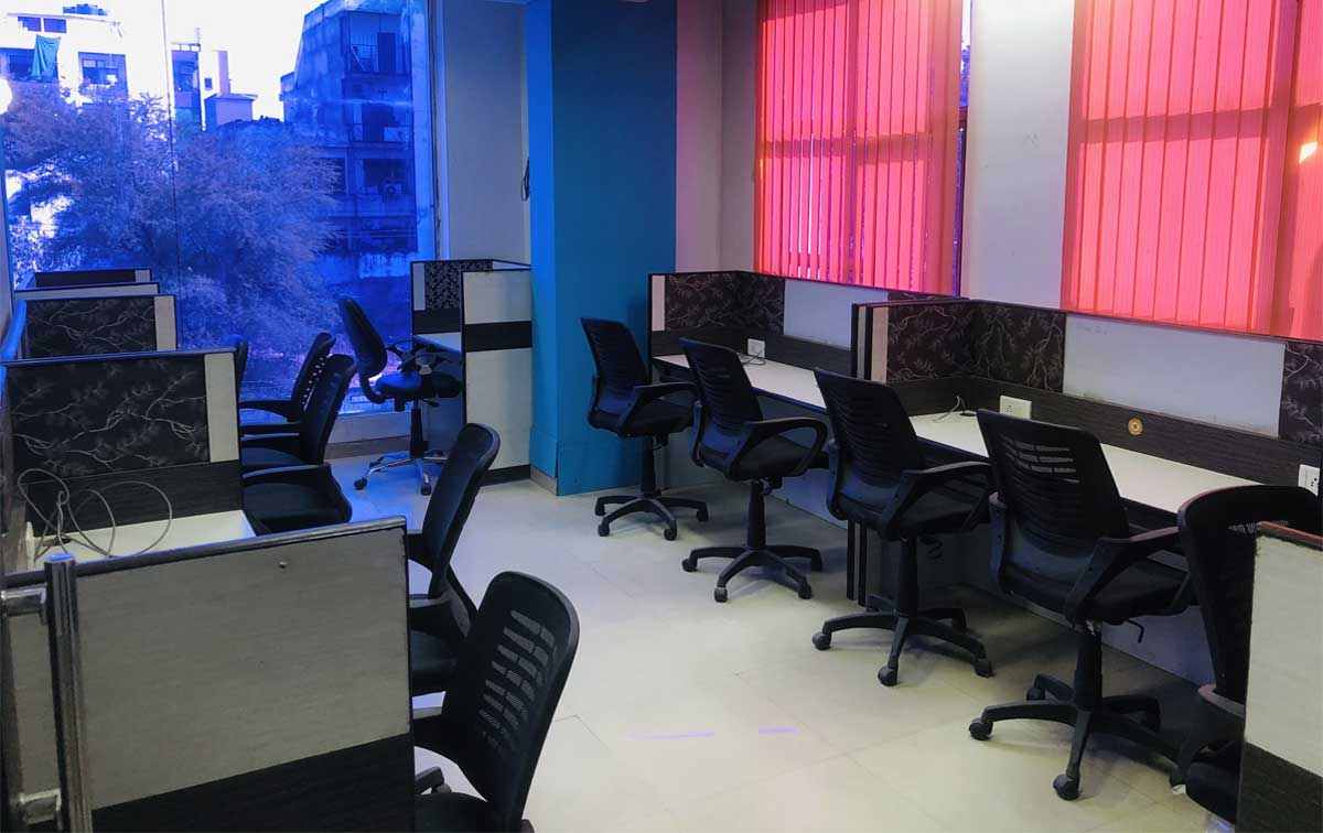 Cubicle Crushers Coworking Space in Jaipur