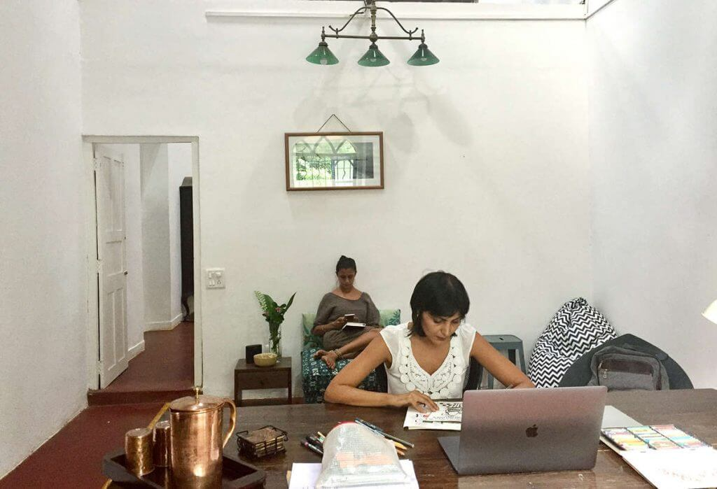 Blue Lotus Coworking Space in Goa