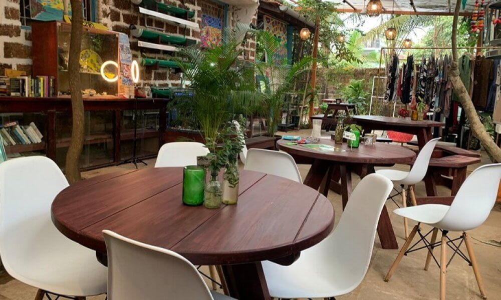 GreenSpace Bistro Coworking Space in Goa