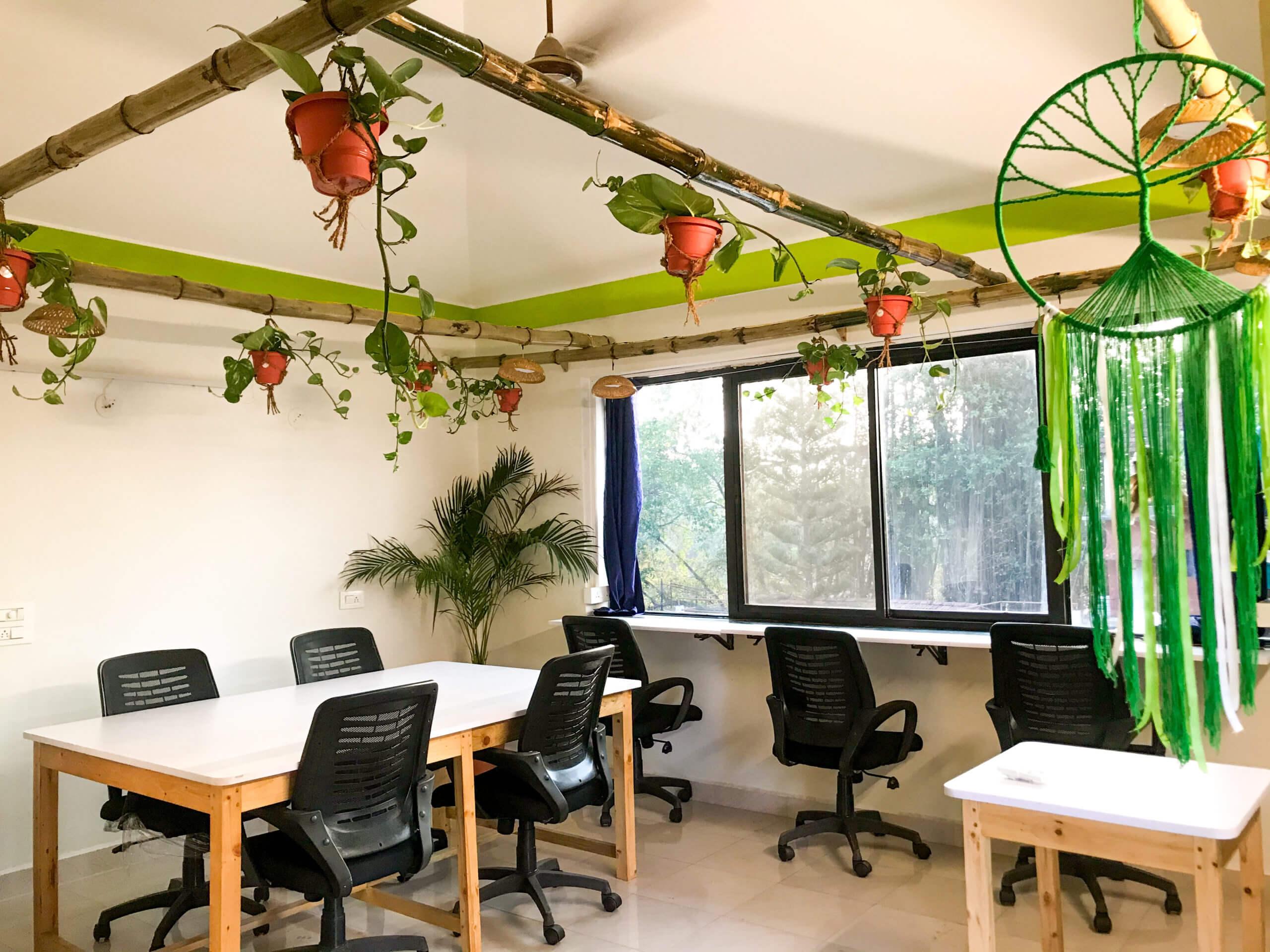 NoMadGao Assagao Coworking Space in Goa