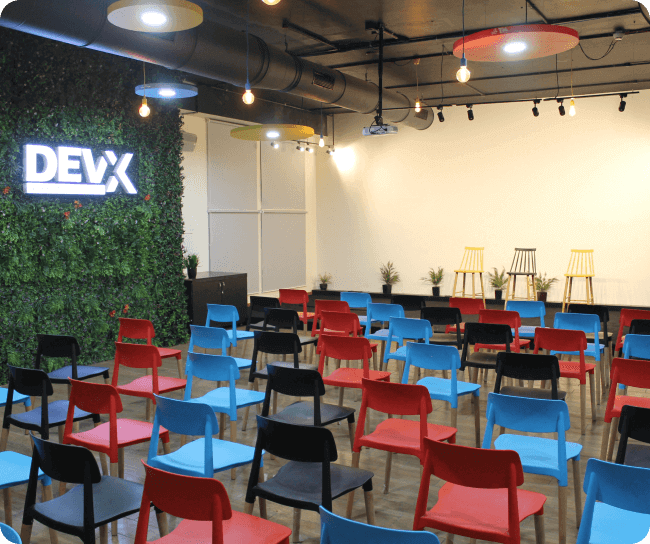 DevX- Event rooms in Ahmedabad