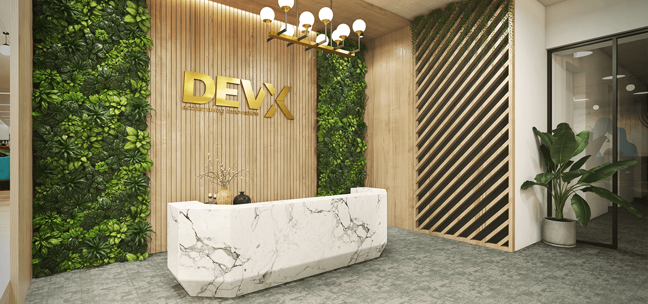 Premium Lounge at Coworking Space in Hyderabad by DevX