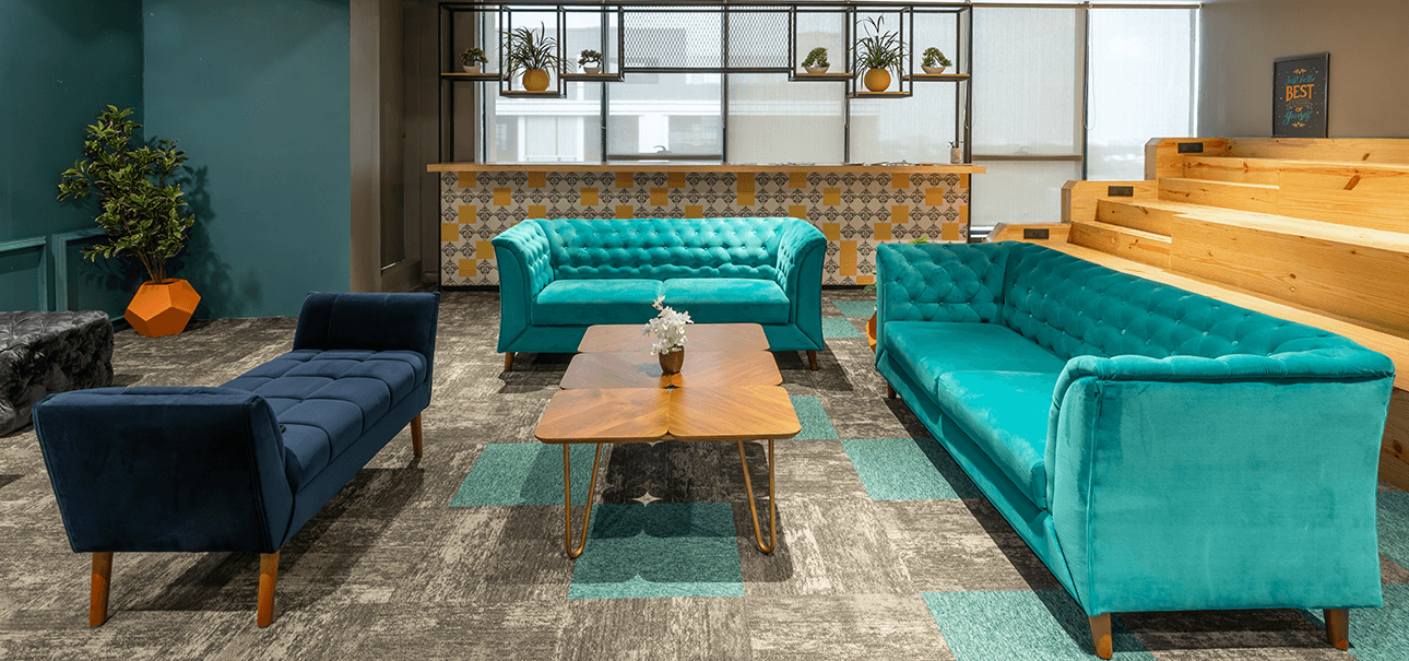 Premium Lounge at DevX Coworking Space
