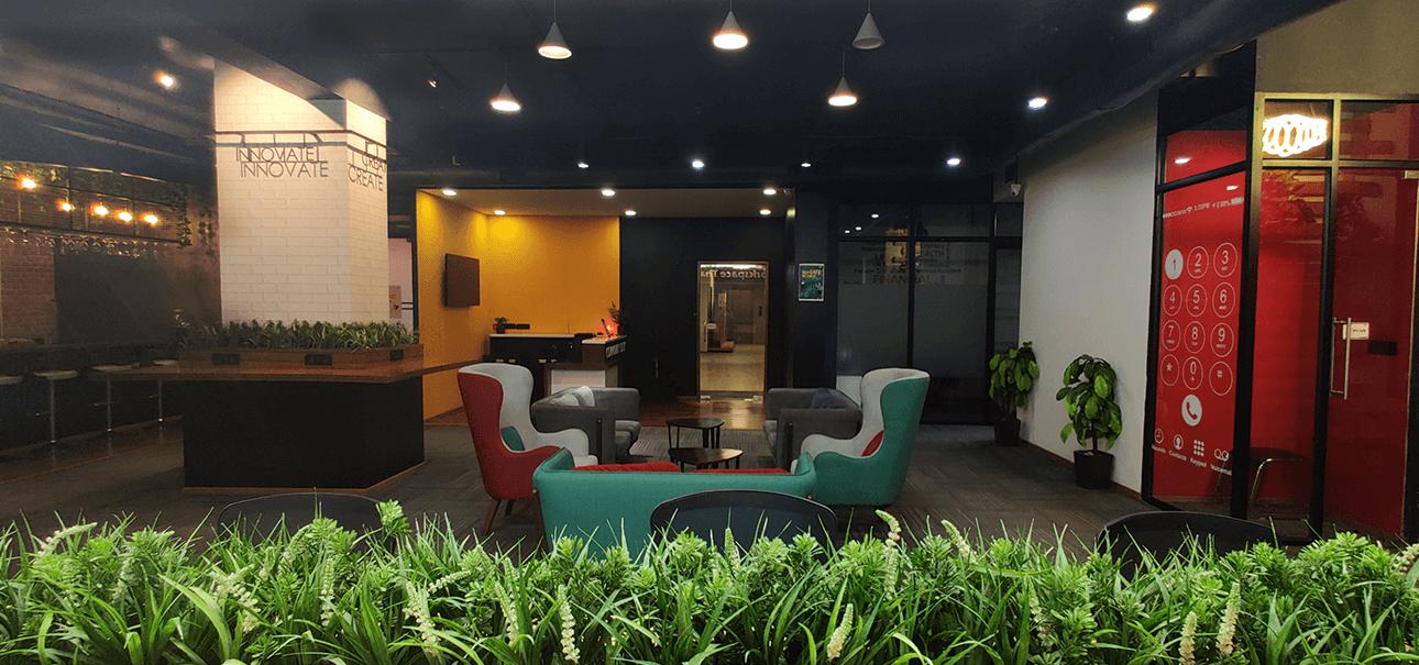 Premium Flexi Lounge at DevX Coworking Space