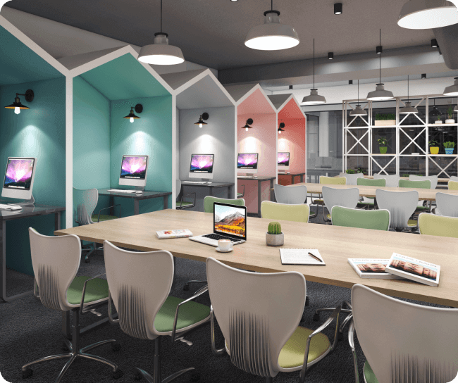 DevX- Dedicated desk in Vadodara