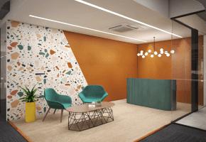 Phi Designs Contemporary Corporate Office Interior Designs