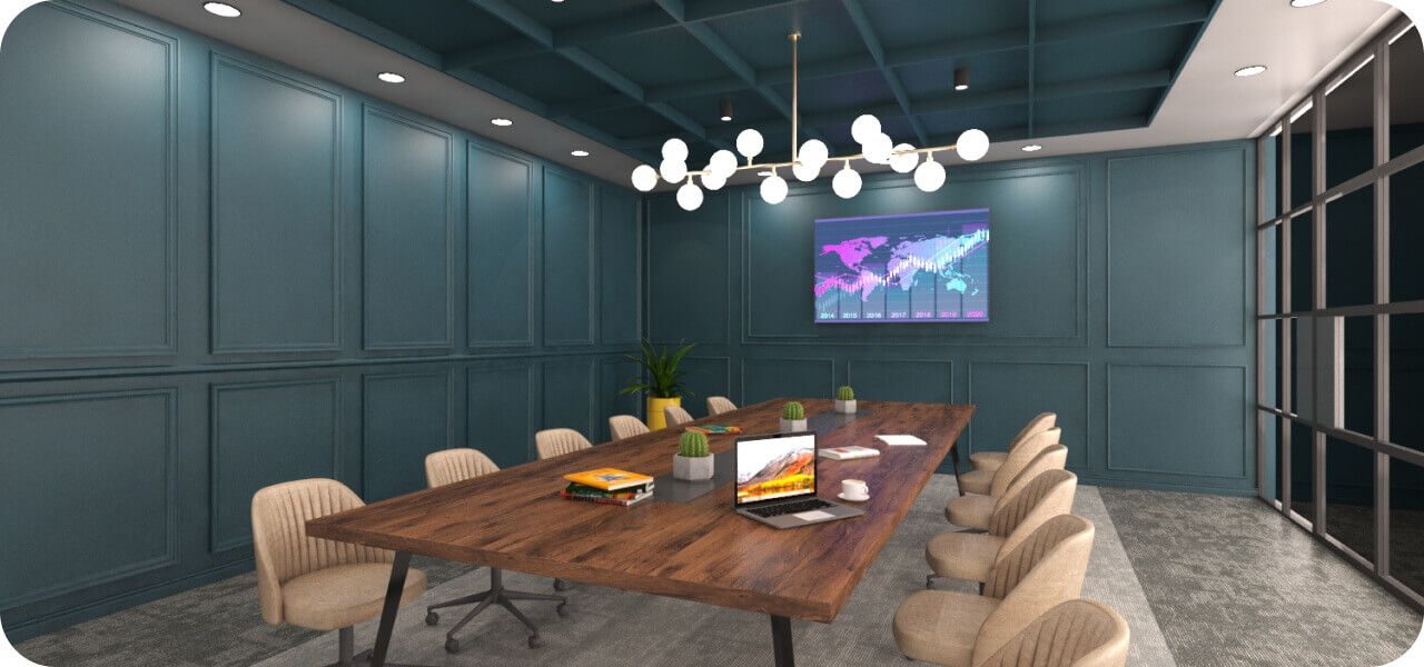 Phi Designs Amazing Corporate Office Interior Designs