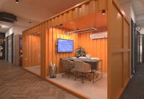 Phi Designs Industrial Corporate Office Interior Designs