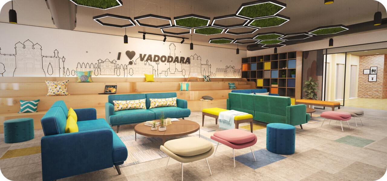Phi Designs Amazing Startup Office Interior Designs