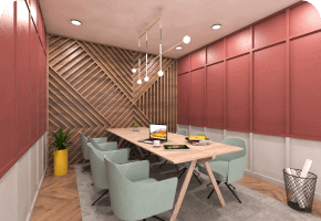 Phi Designs French Startup Office Interior Designs