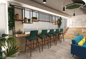 Phi Designs Modern Startup Office Interior Designs
