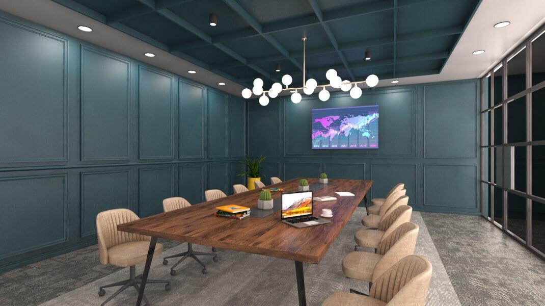 Phi Design Office Interior Design Portfolio #1
