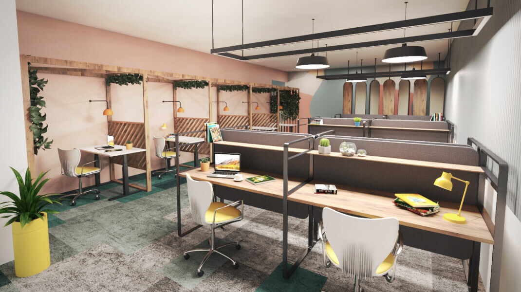 Phi Design Office Interior Design Portfolio #2