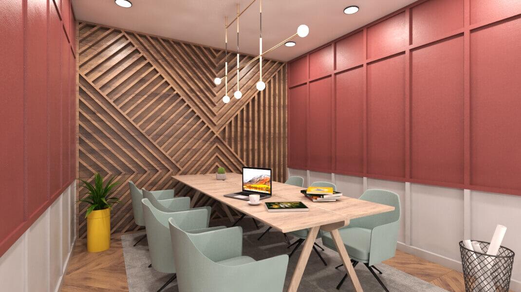 Phi Design Office Interior Design Portfolio #3