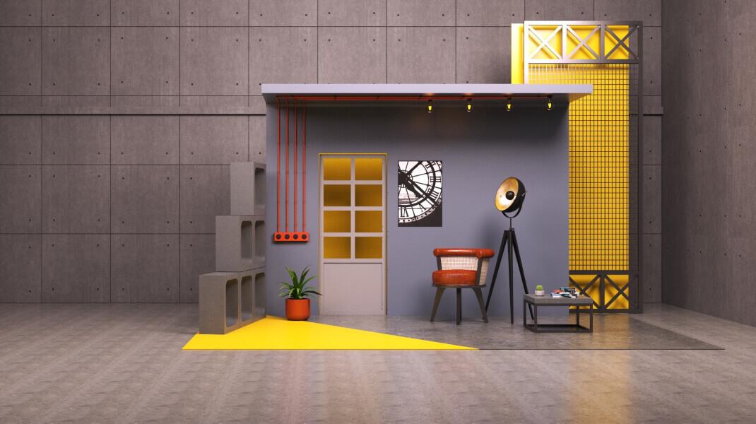 Phi Design Industrial Interior Designs
