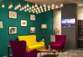 Phi Designs Startup Offices Industrial Interior Designs