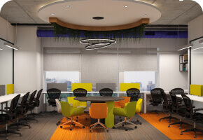 DevX Flexi Private Cabin for Coworking and shared office space in Ahmedabad