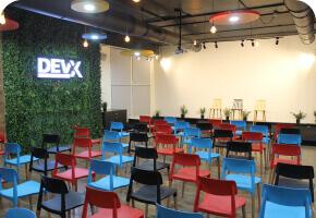 DevX Event room and area in Vadodara