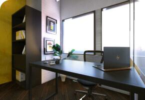 DevX Manager Cabin for Coworking in Vadodara